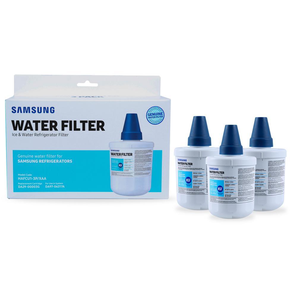 Genuine HAF-CU1S Water Filter for Samsung Refrigerators (3-Pack)