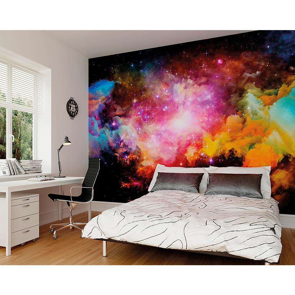 Galaxy Wall Murals Photo Wallpaper Mural Galaxy 366x254 Cm Space