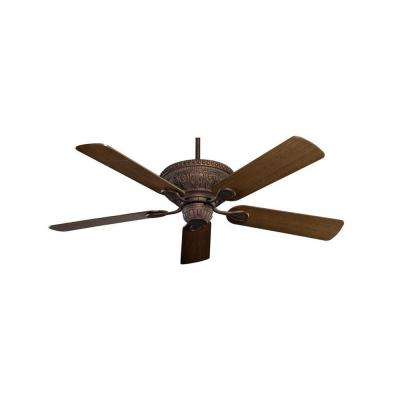 Worsley 52 in. New Tortoise Shell Indoor Ceiling Fan