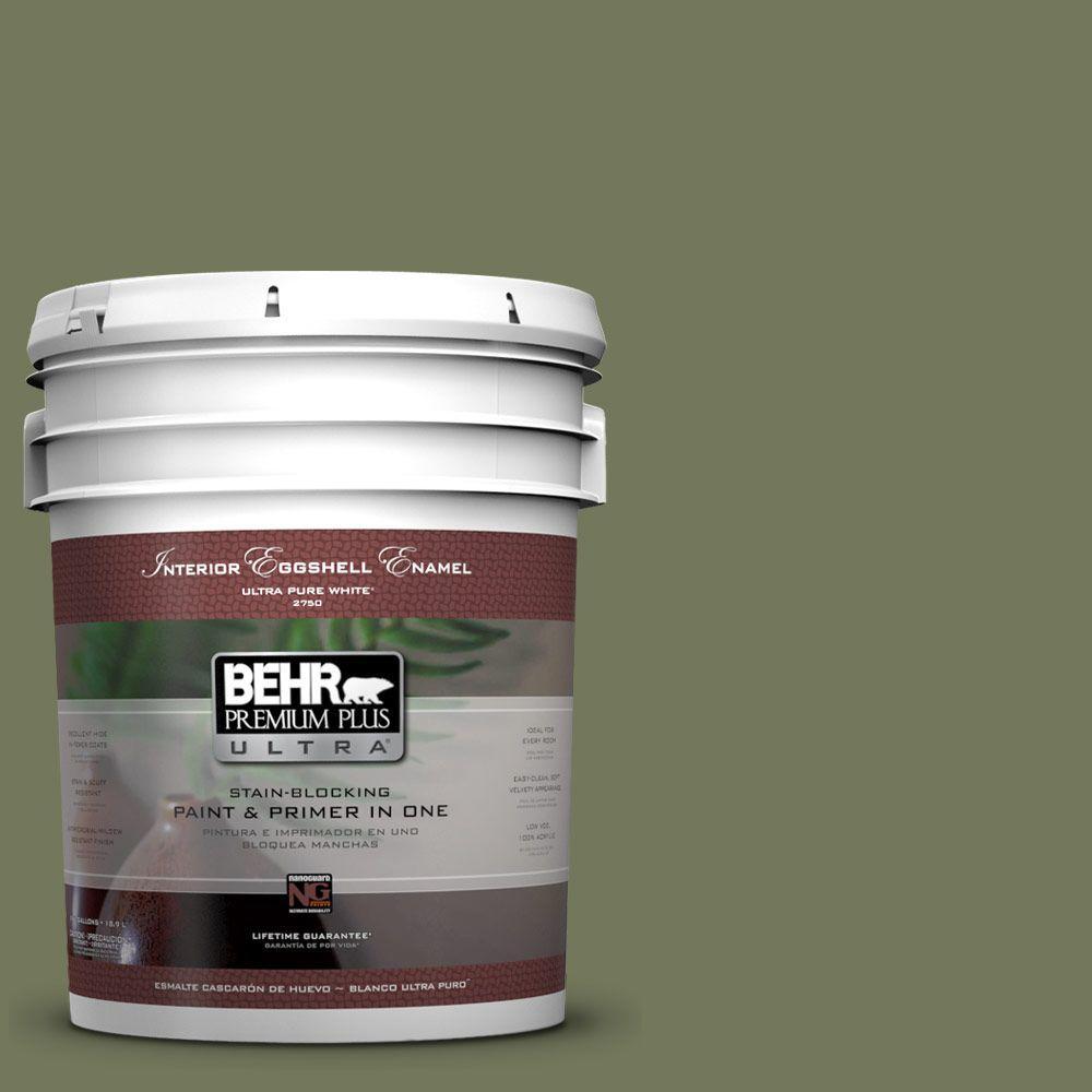 5-gal. #BIC-56 Jalapeno Eggshell Enamel Interior Paint