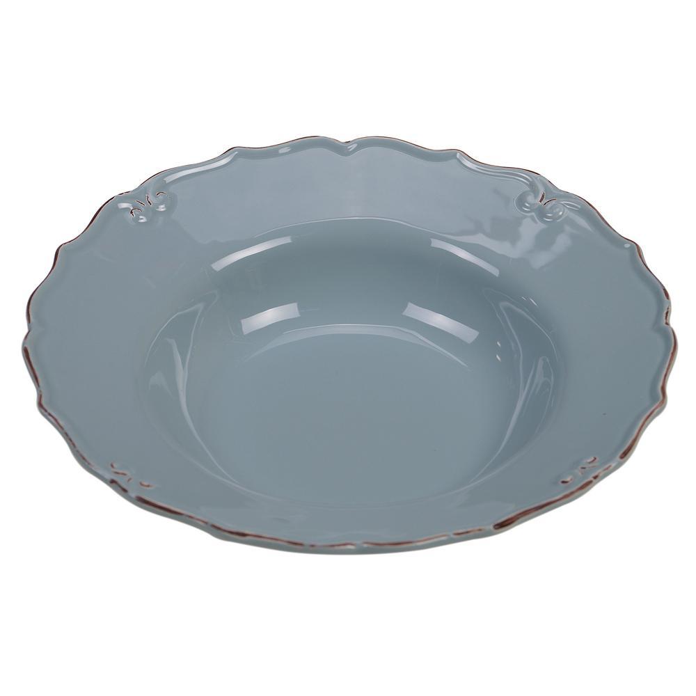 Vintage Blue 112 oz. Serving Bowl