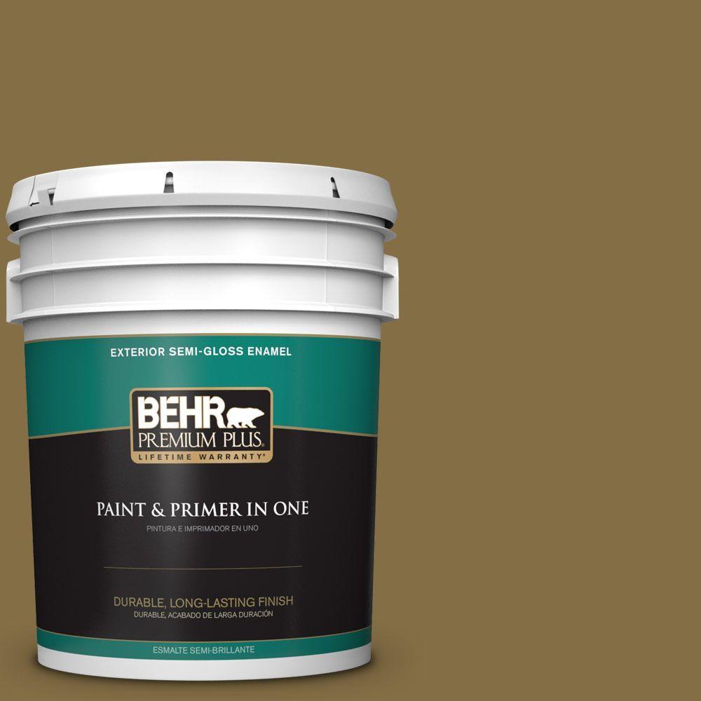 5-gal. #370F-7 Pinetop Semi-Gloss Enamel Exterior Paint
