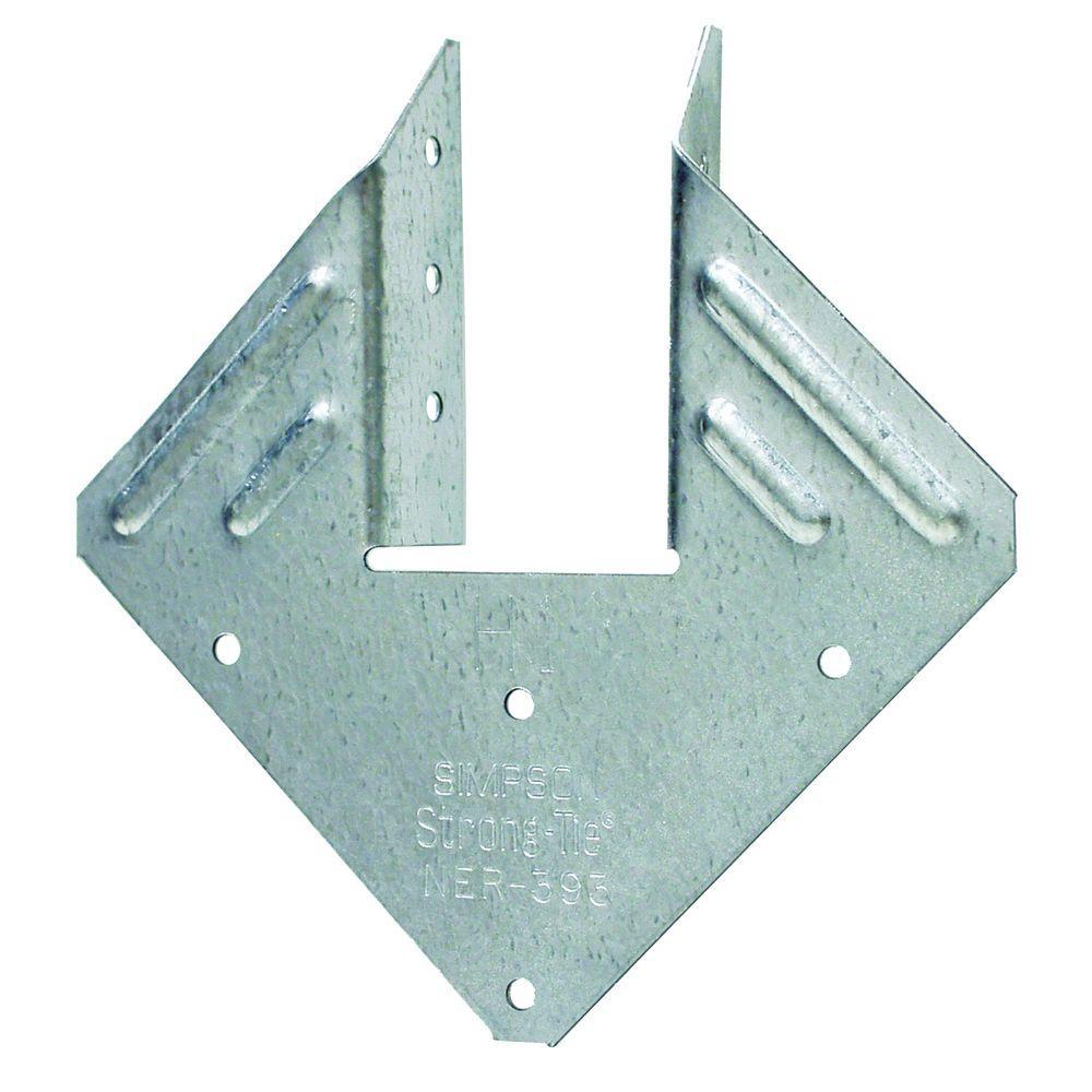 Simpson Strong-Tie H1 18-Gauge Galvanized Hurricane Tie