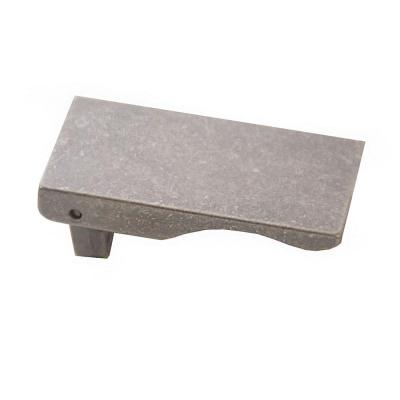 Verge 0.68 in. Antique Pewter Cabinet Hardware Center-to-Center Pull