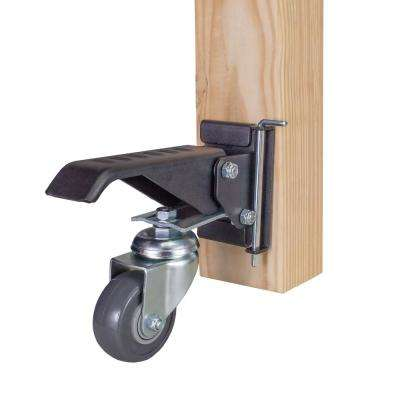 Workbench Casters with Quick-Release Workbench Caster Plates (4-Sets)