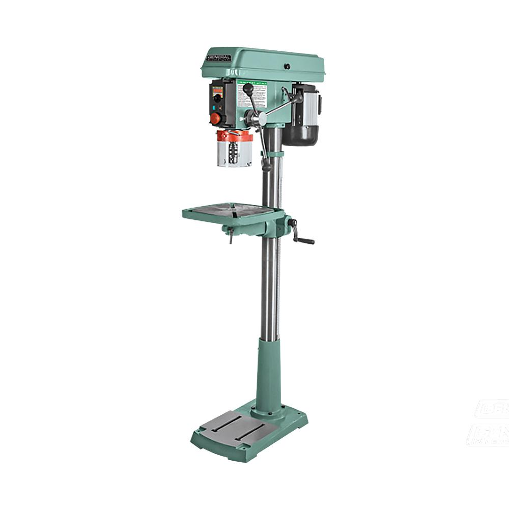 Drill Press Guard >> General International 17 In 1hp Electronic Variable Speed 120 To 3200 Rpm Drill Press With Flip Up Chuck Guard And Integrated Laser Pointer