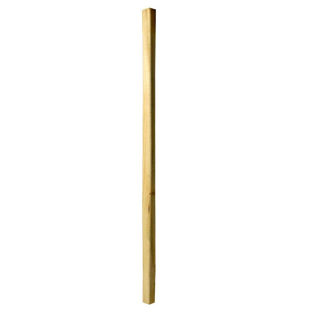WeatherShield 36 in. x 2 in. x 2 in. Pressure-Treated Wood Square End Baluster