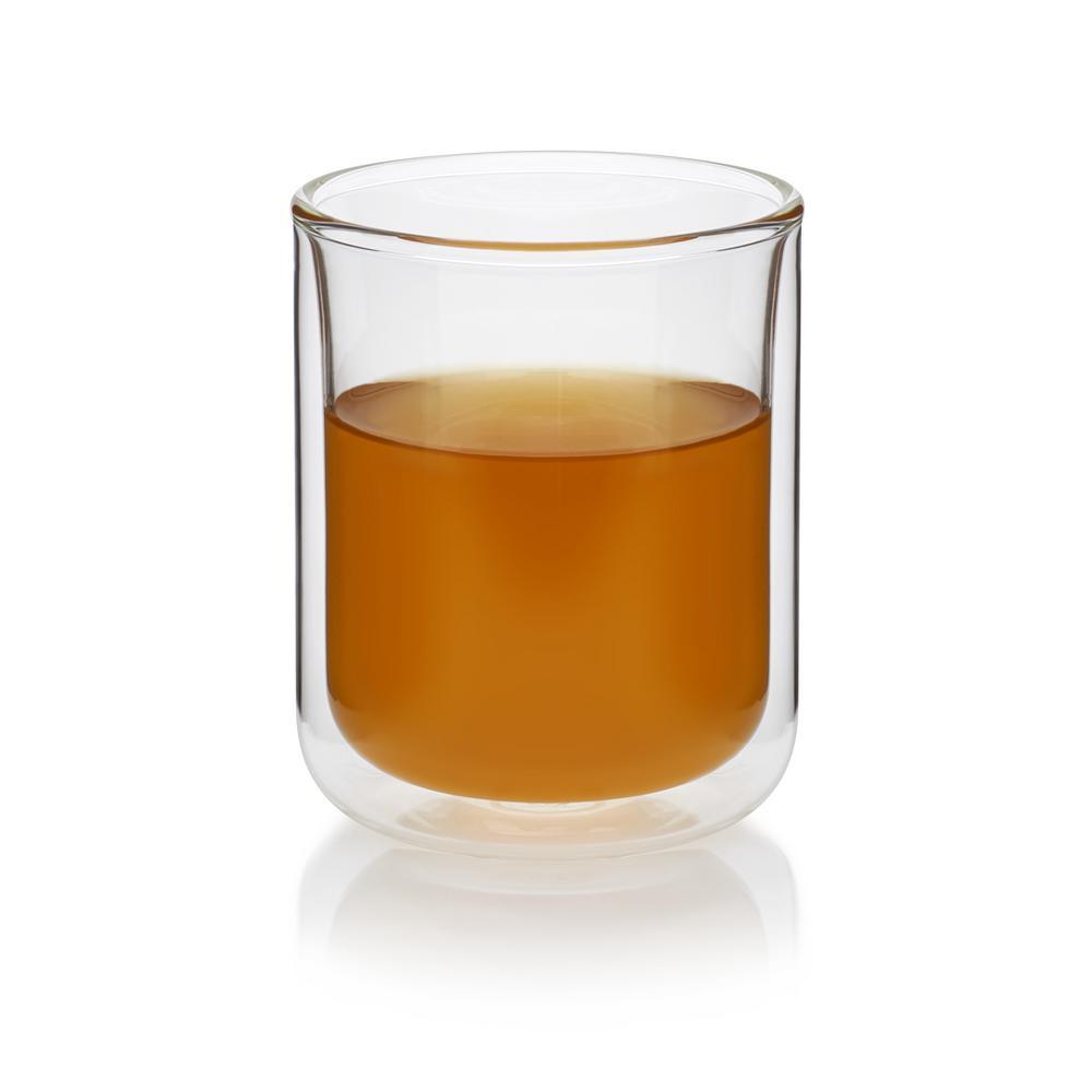 Classic 11.7 oz. 4-Piece Double Walled Tea Glass Set