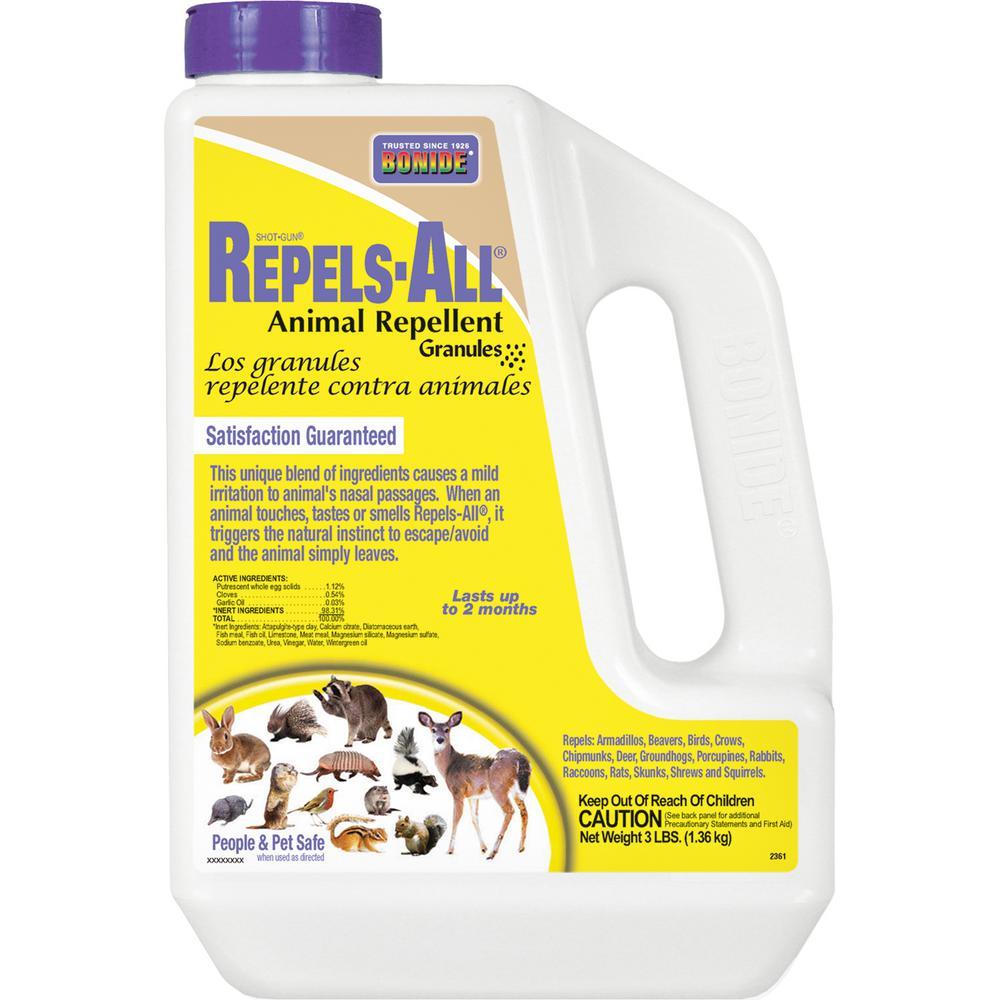 Bonide BONIDE 3 lbs Repels-All® Animal Repellent Granules