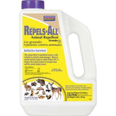BONIDE 3 lbs Repels-All® Animal Repellent Granules