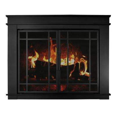 Fillmore Medium Glass Fireplace Doors