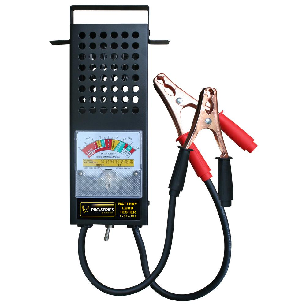 2 Battery Tester : Pro series amp battery tester the home depot
