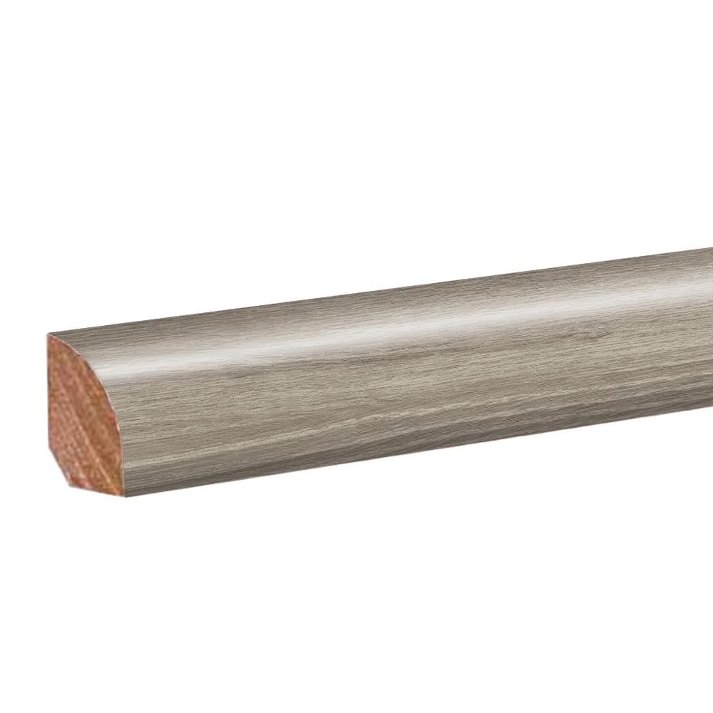 Mohawk Natural Oak Warm Grey .62 in. Thick x 0.79 in. Wide x 94.5 in. Length Vinyl Quarter Round Molding
