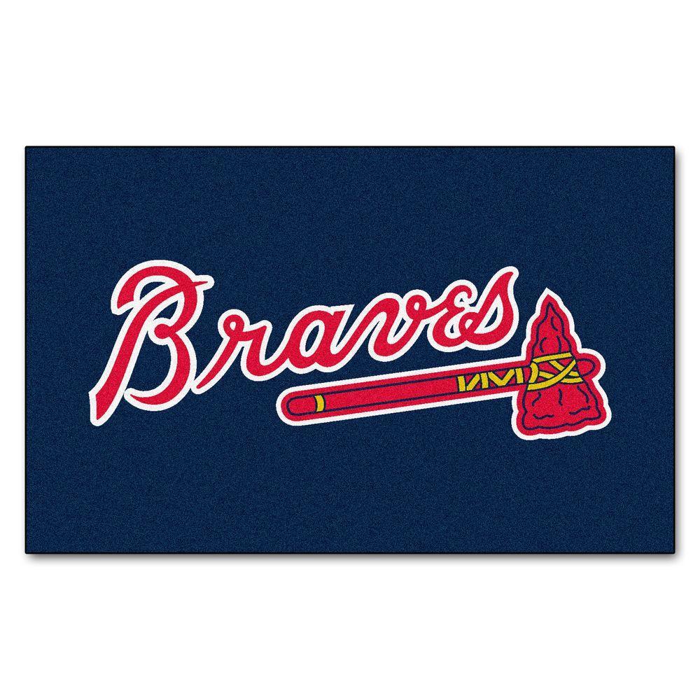 Atlanta Braves 5 ft. x 8 ft. Ulti-Mat