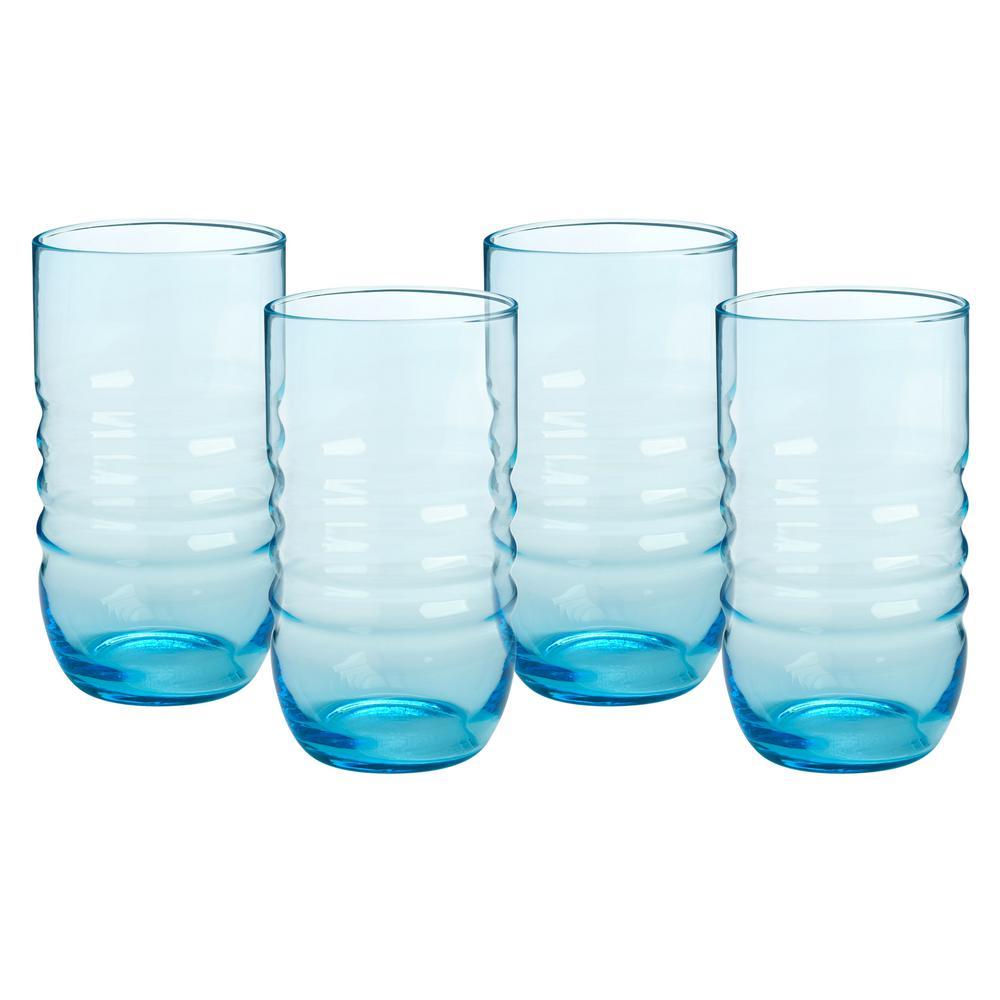 undefined 20 oz. Highball Glasses (Set of 4)