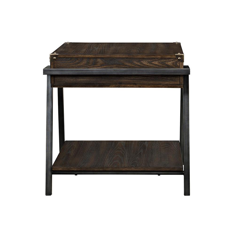 ACME Furniture Macall Dark Oak Storage End Table