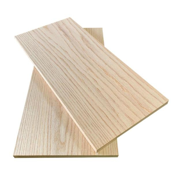 1 in. x 12 in. x 6 ft. Red Oak S4S Board (2-Pack)