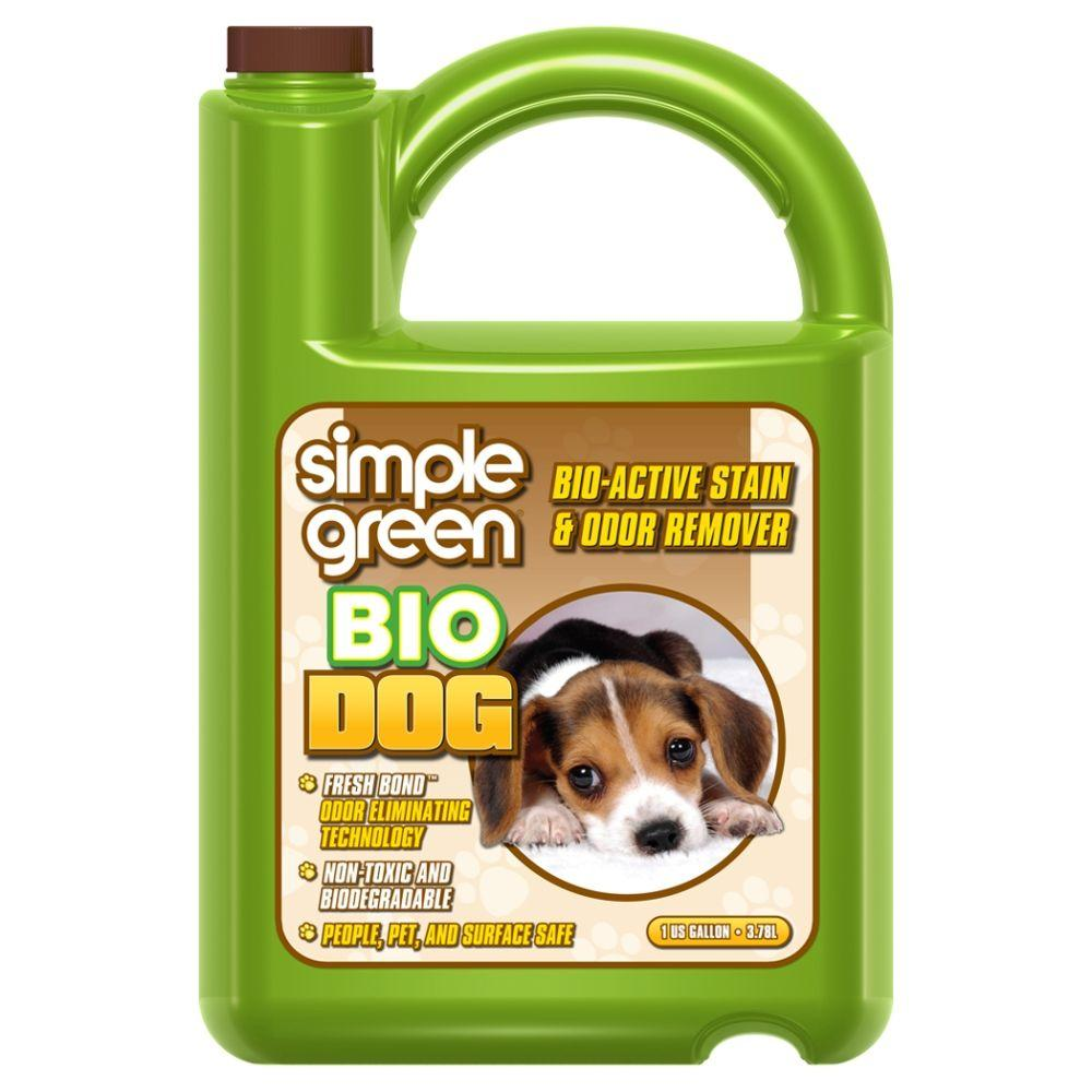 Dog Smell Of Rug: Simple Green 1 Gal. Bio Dog Pet Stain And Odor Remover (4