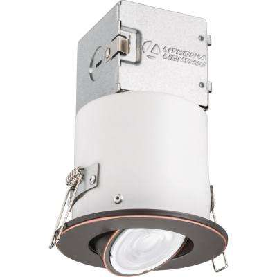 Lithonia OneUp 3 in. Oil Rubbed Bronze Integrated LED Recessed Kit