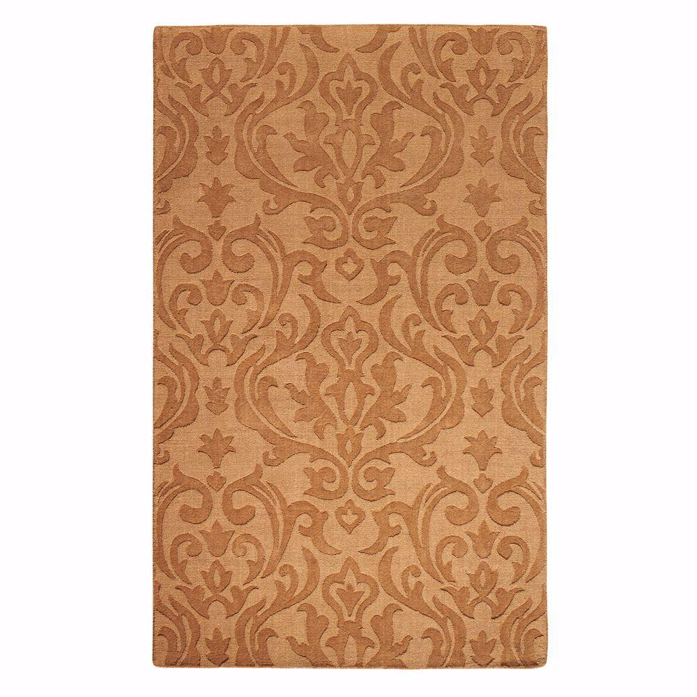 Home Decorators Collection Maria Gold 3 ft. 6 in. x 5 ft. 6 in. Area Rug
