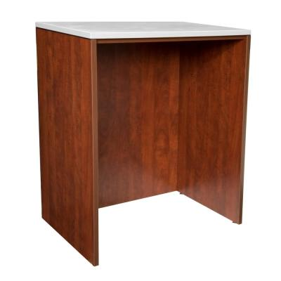 Legacy Cherry Stand Up Desk without Top