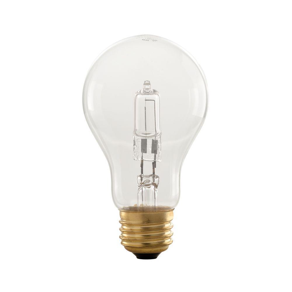 Smart Electric Smart Dimming 42-Watt Halogen A-19 Clear Dimming Night Light Bulb