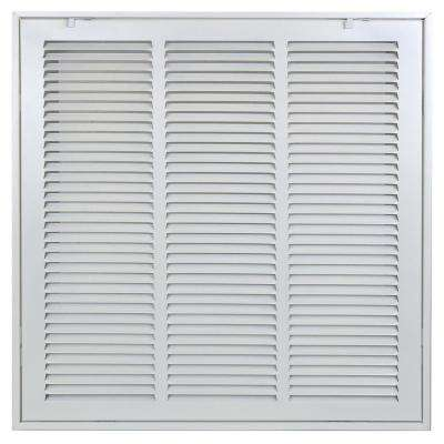 18 in. x 18 in.Return Air Filter Grille in White