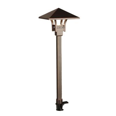 4.5-Watt Oil Rubbed Bronze Outdoor Integrated LED Landscape Path Light