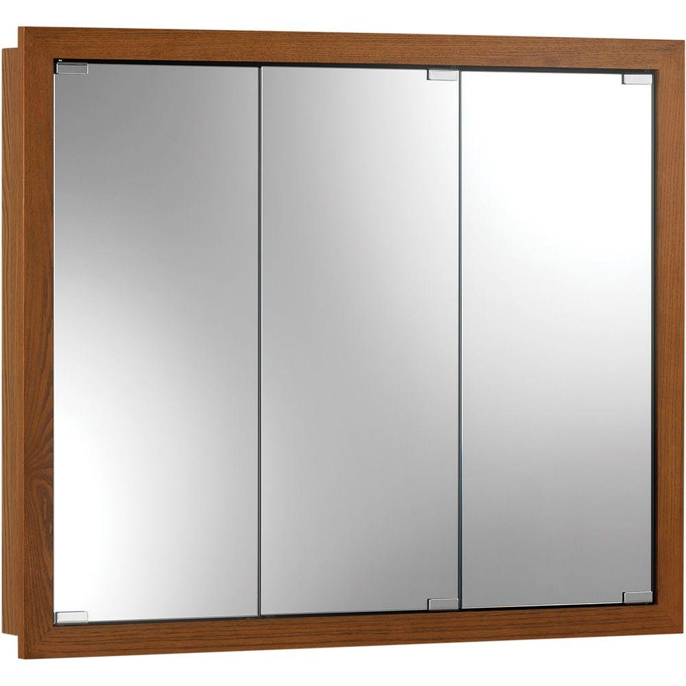 Granville 30 in. x 26 in. x 4-3/4 in. Framed Surface-Mount