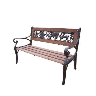 Animal Kiddy Patio Bench