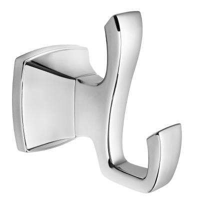 Venturi Robe Hook in Polished Chrome