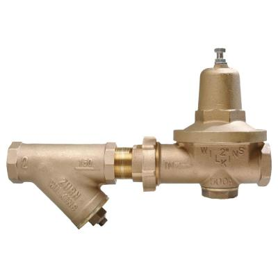 1-1/4 in. Pressure Reducing Valve with Strainer