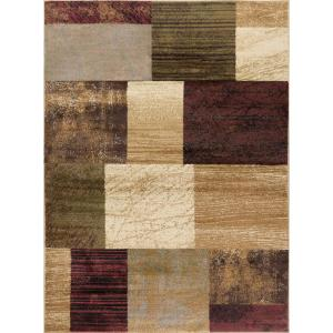 Tayse Rugs Elegance Multi 5 Ft X 7 Ft Contemporary Area