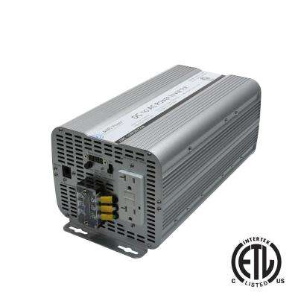 3,600-Watt Modified Sine Inverter 12-Volt DC to 120-Volt AC ETL Listed to UL 458