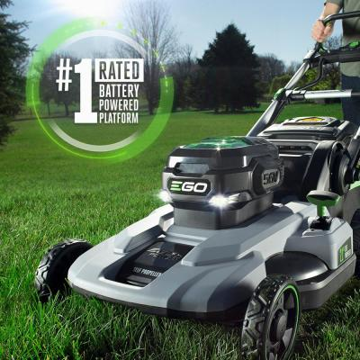 21 in. 56V Lithium-Ion Cordless Electric Walk Behind Self Propelled Mower, 7.5 Ah Battery and Charger Included