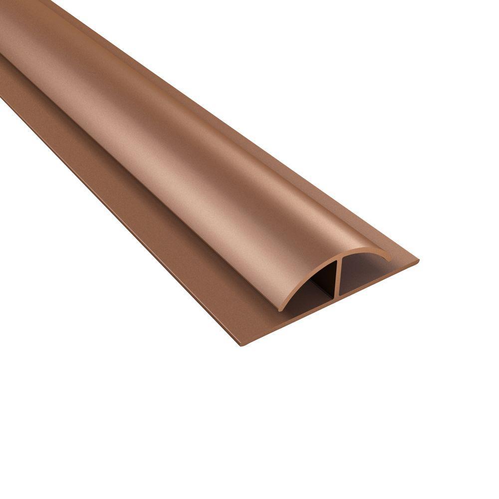 4 ft. Argent Copper Divider Trim