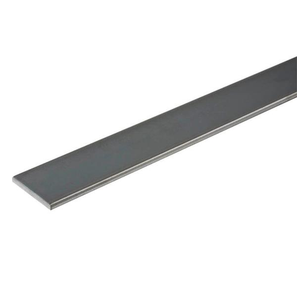 1/2 in. x 36 in. Plain Steel Flat Bar with 1/8 in. Thick