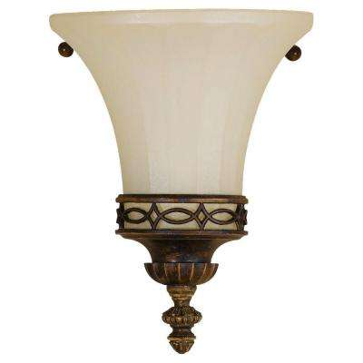 Drawing Room 1-Light Walnut Sconce