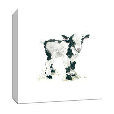 """15 in. x 15 in. """"Baby Goat'' Canvas Wall Art"""