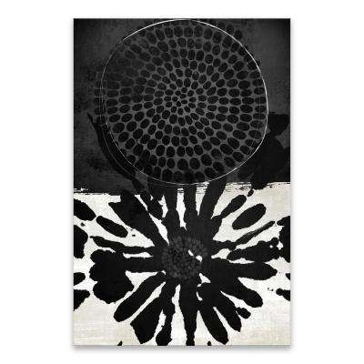 "24 in. x 36 in. ""Dot Tribal"" by Nikki Chu High Gloss Coated Printed Canvas Wall Art"