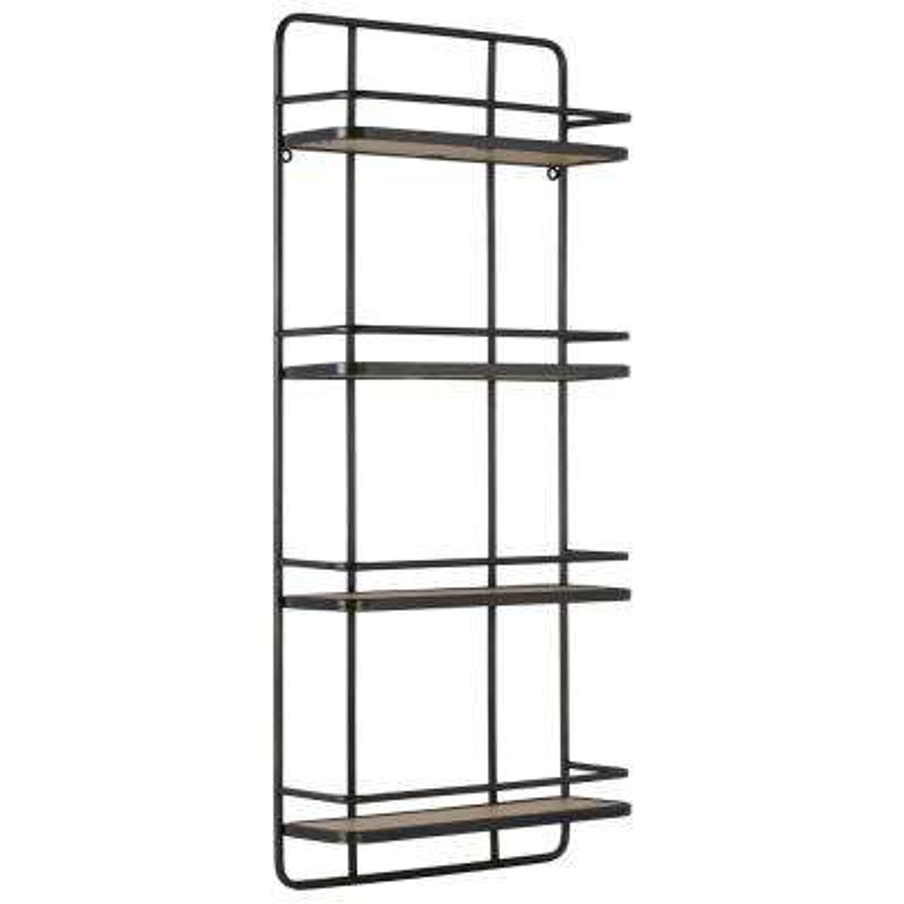 16 in. x 36 in. 1 Metal Wall Shelf