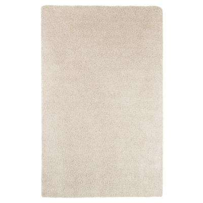 Shag Beige 8 ft. x 10 ft. Indoor/Outdoor Area Rug