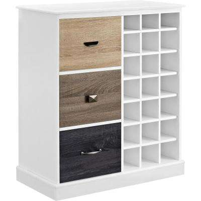 Newbridge 21-Bottle White Wine Cabinet