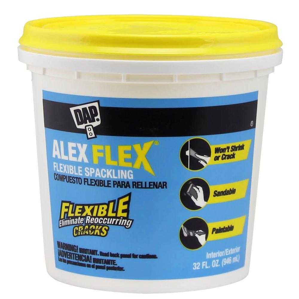 Alex Flex 32 oz. High Performance Spackling Paste (8-Pack)