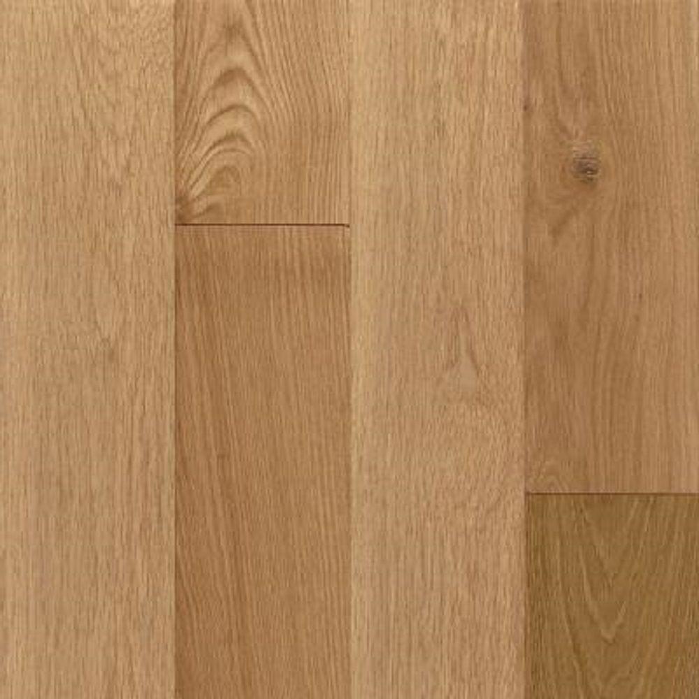 Bruce Take Home Sample American Vintage Natural White Oak Engineered Scraped Hardwood Flooring
