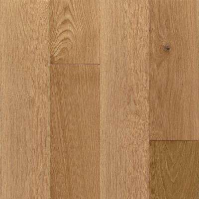 Take Home Sample - American Vintage Natural White Oak Engineered Scraped Hardwood Flooring - 5 in. x 7 in.