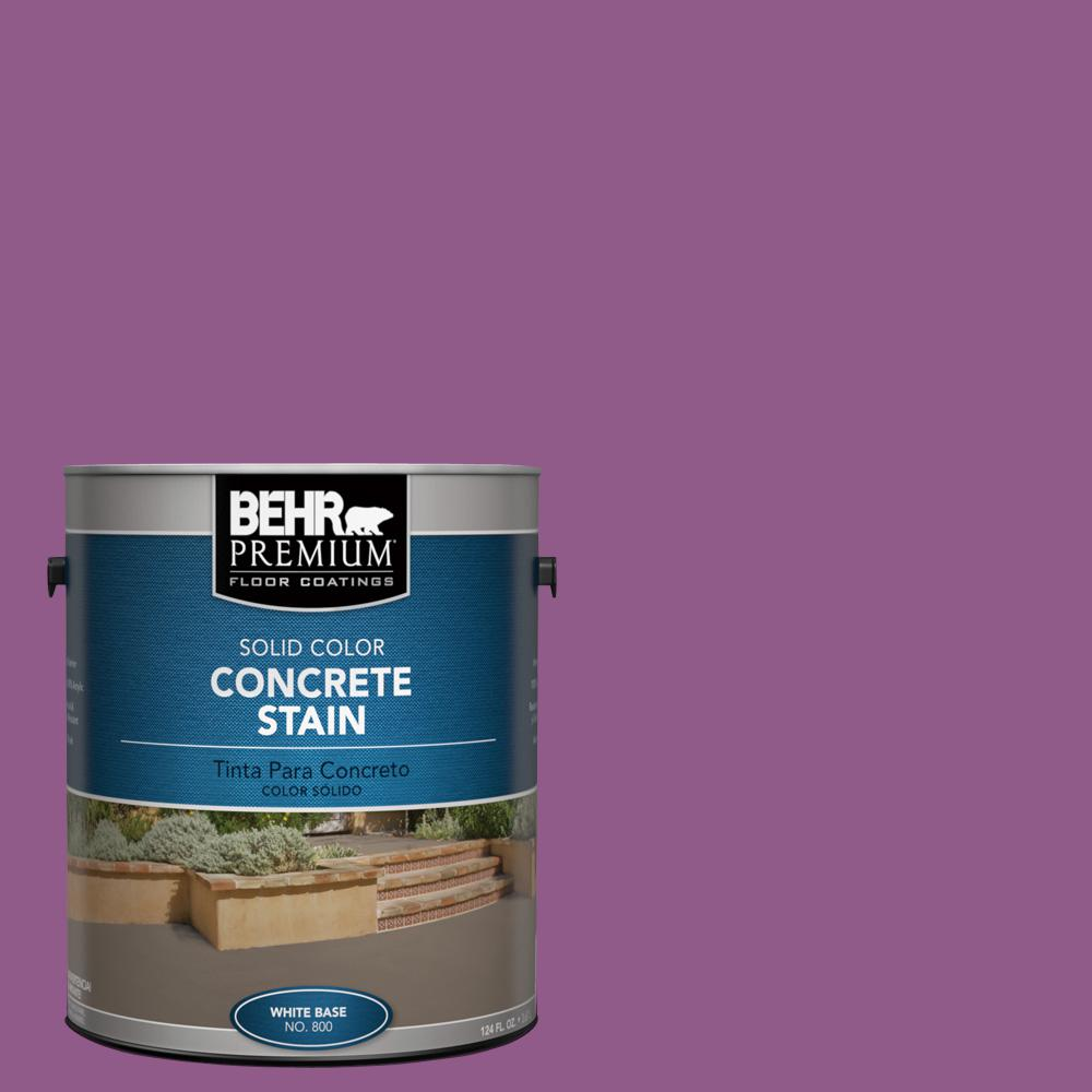 1 gal. #OSHA-4 OSHA SAFETY PURPLE Solid Color Interior/Exterior Concrete Stain