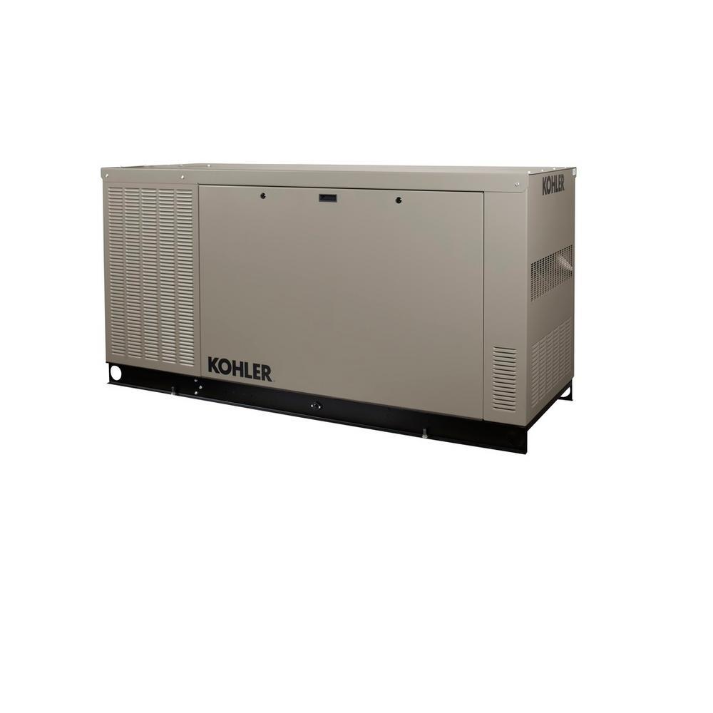KOHLER RCL 48,000-Watt Liquid Cooled Standby Generator