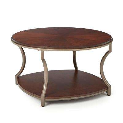 Maryland Brown Modern Cocktail Table