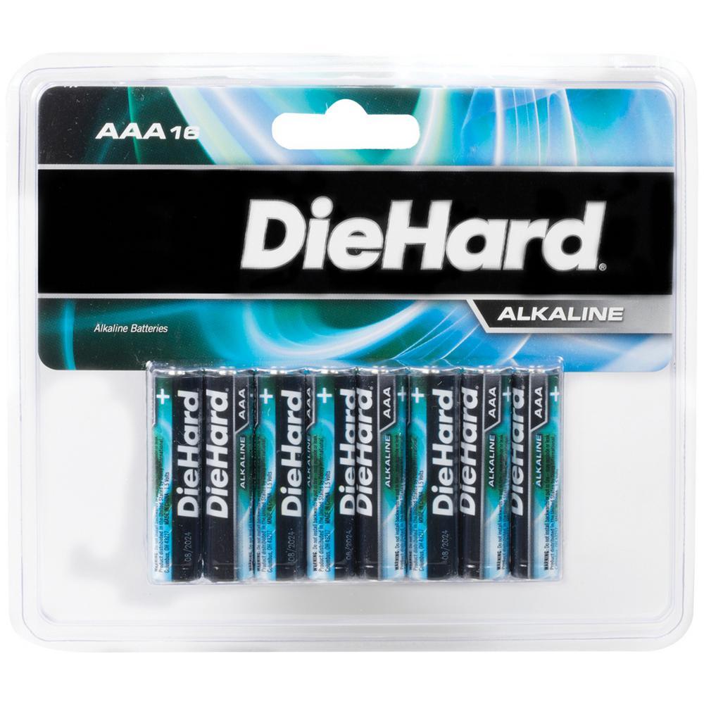 1.5-Volt AAA Alkaline Batteries (16-Pack)